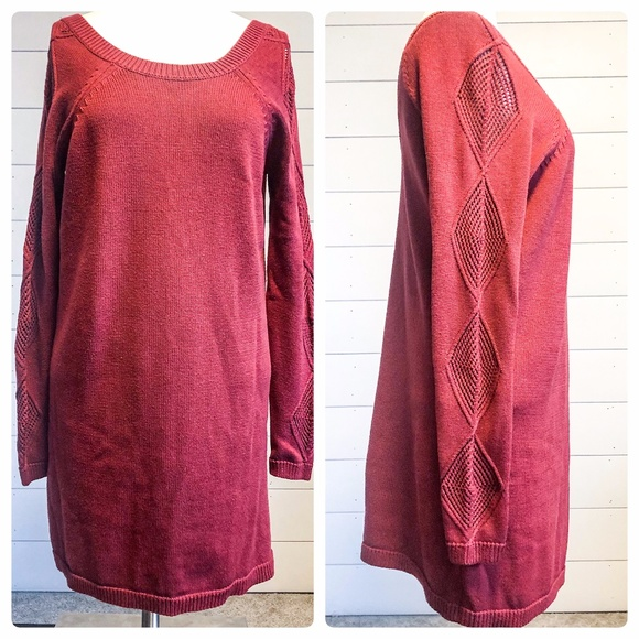 Volcom True To This Tunic Knit Sweater